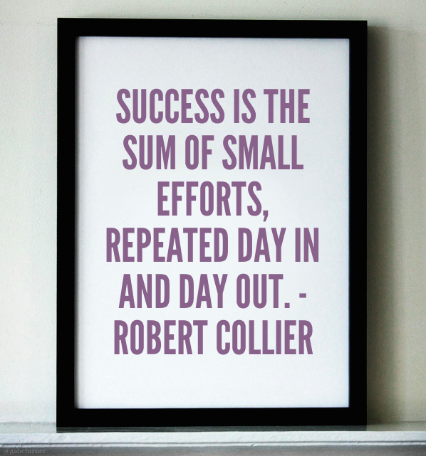 Success quote Robert Collier