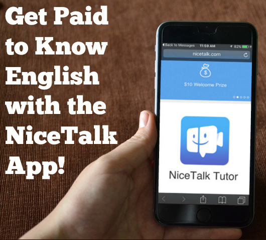 Get paid to know English